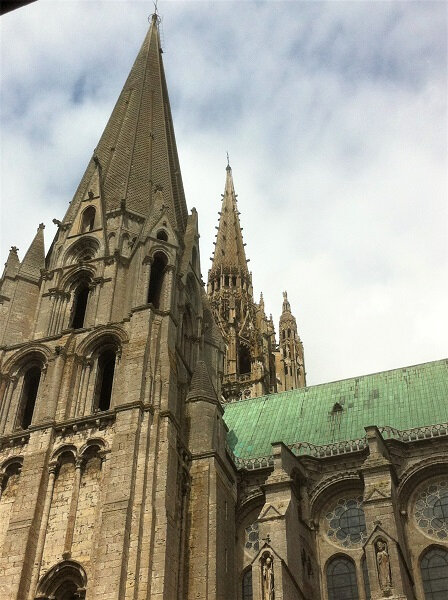 cathedrale chartres fleche 42