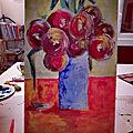 Bouquet de fleurs moderne