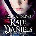 2014#79 : kate daniels (tome 1) - morsure magique de ilona andrews