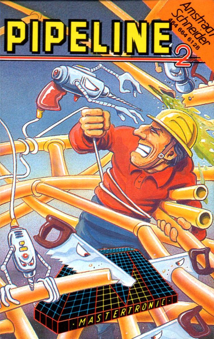 Super Pipeline II sur Amstrad CPC