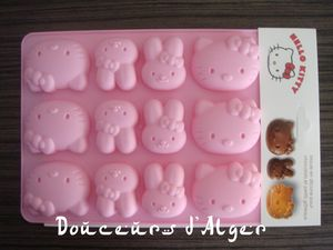 moule chocolat hello kitty