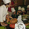 Ateliers Culinaires enfants: Croque monsieur de pommes poêlées