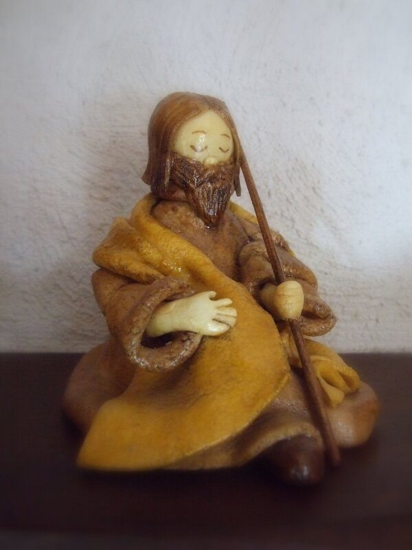 Joseph en pâte à sel