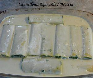 Cannellonis épinards-brocciu