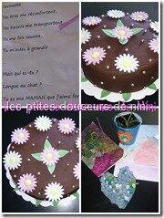Gâteau de fêtes des mères