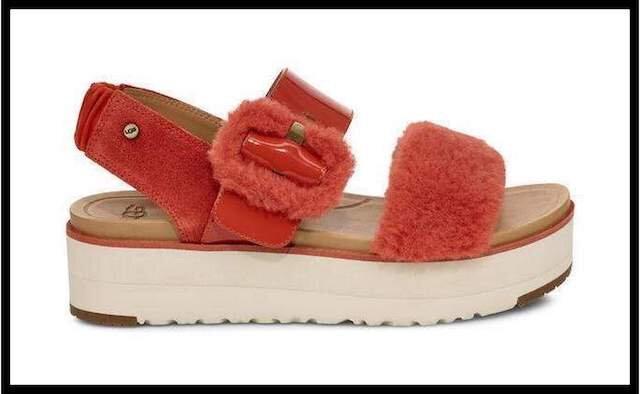 ugg sandale fluff 7