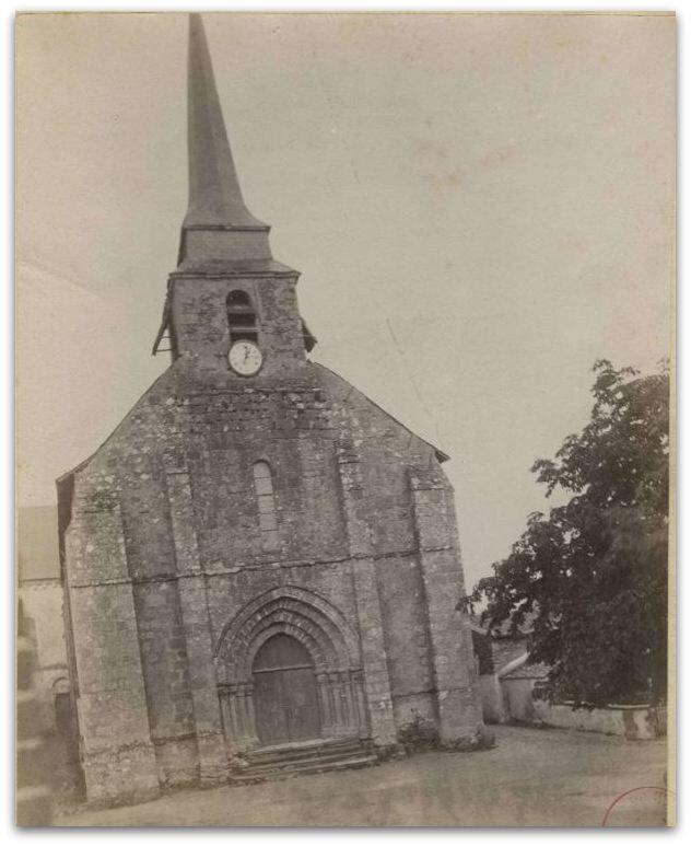 Montfaucon église St Jacques z
