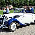 Bmw 326 cabriolet carrossée par Drauz de 1936 (9ème Classic Gala de Schwetzingen 2011) 01