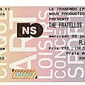 The fratellis - mercredi 2 juillet 2008 - trabendo (paris)