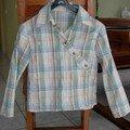 chemise cache coeur pour les 11ans de ma fille