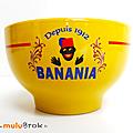 Vaisselle pub ... bol banania