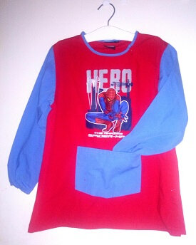 blouse spiderman