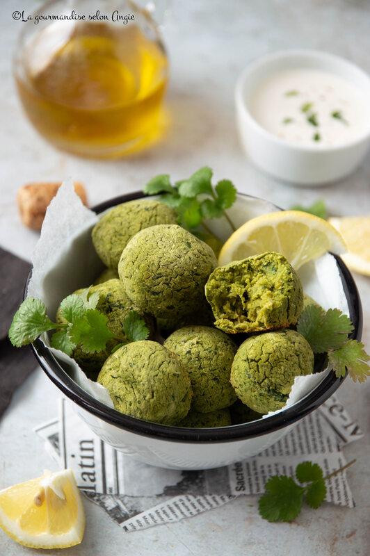 falafels au chou kale sans gluten vegan celnat