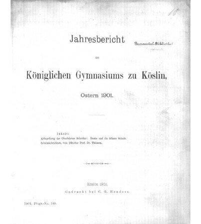 Jahresbericht_1901_K_slin_page_de_garde