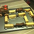 gateau train