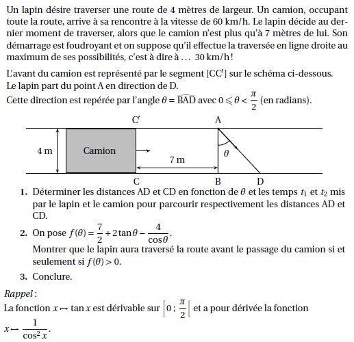 Terminales S Annales Exercices De Bac S Corriges 2 Fonctions Trigonometriques Nextschool