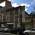 Alençon: menace de démolition de maisons urbaines médiévales à pan de bois...