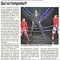 Revue de presse du 2ème tournoi international de catch-impro