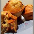 Muffins poire-baies de goji