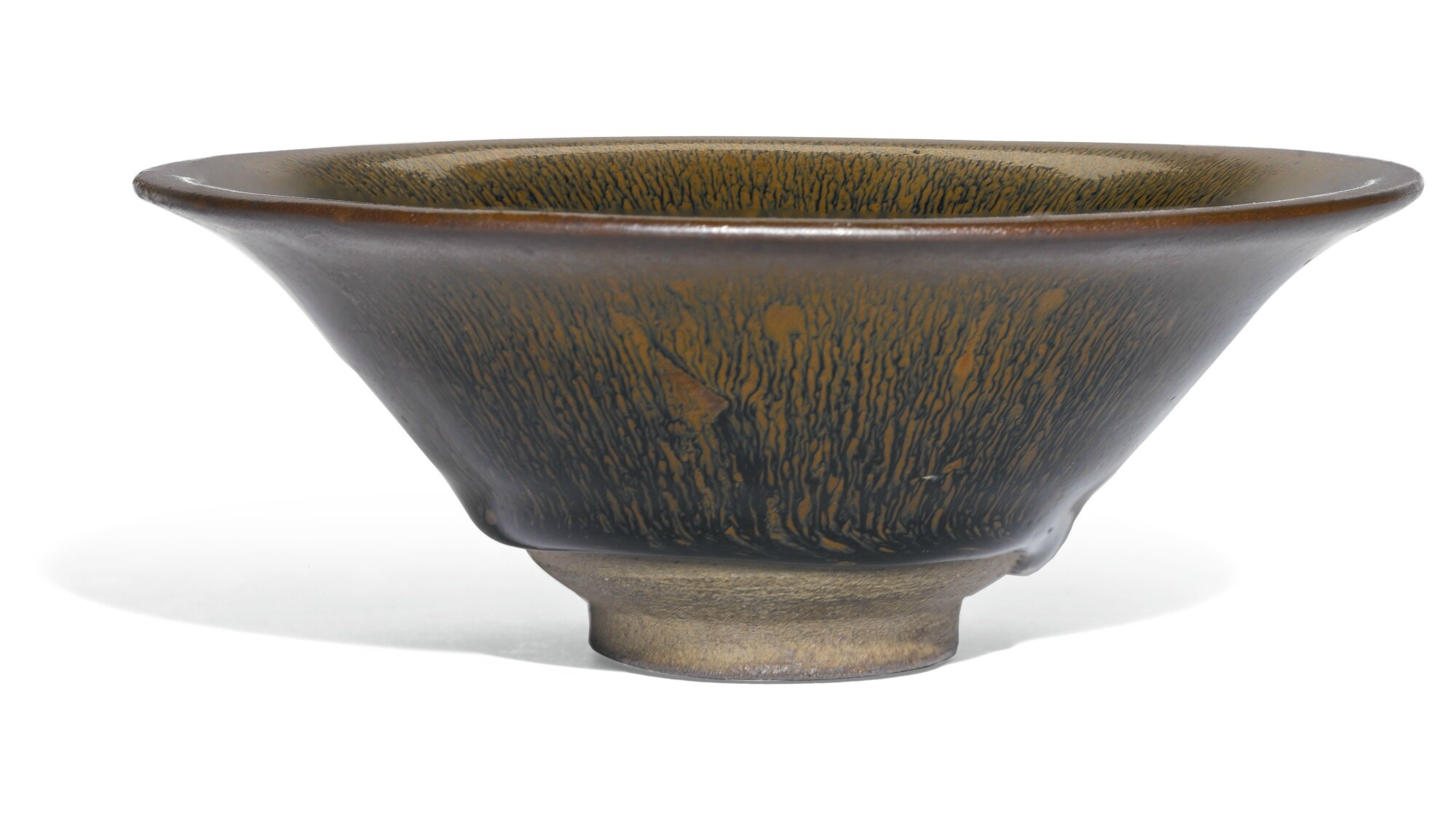 A 'Jian' 'hare's fur' bowl, Song dynasty