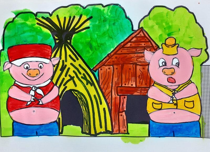372-COURONNES-Couronne Les trois petits cochons (26)