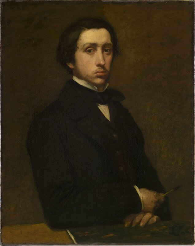 Hilaire-Germain-Edgar Degas, 'Self Portrait', 1855