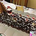 Buche a la mousse au chocolat dulcey