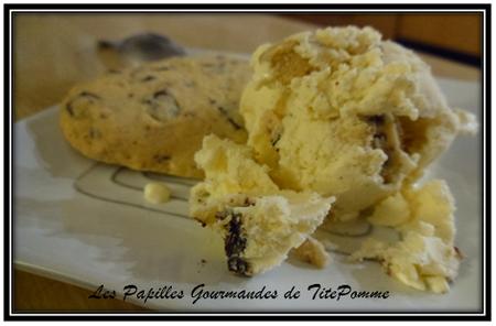 crème glacée vanille et pâte de cookies-1