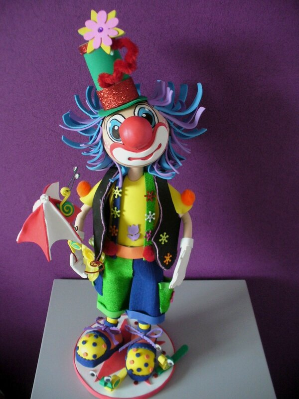 clown chamalow