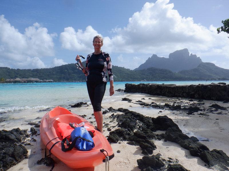 Bora agnès kayak
