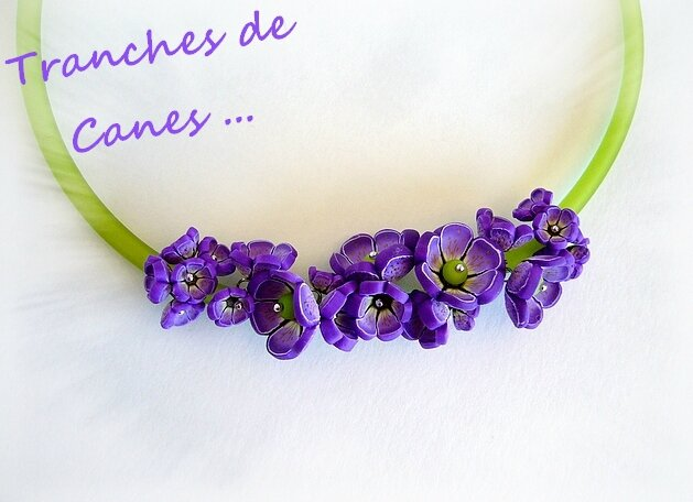 lilas collier grappe