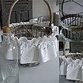 Le panier aux bouteilles revisité... charme suédois...