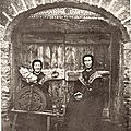 Femmes de Saint-Véran XIXème siècle
