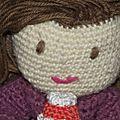 cupcake poupée au crochet coton fifty 8