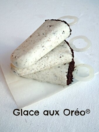 glaces oreo