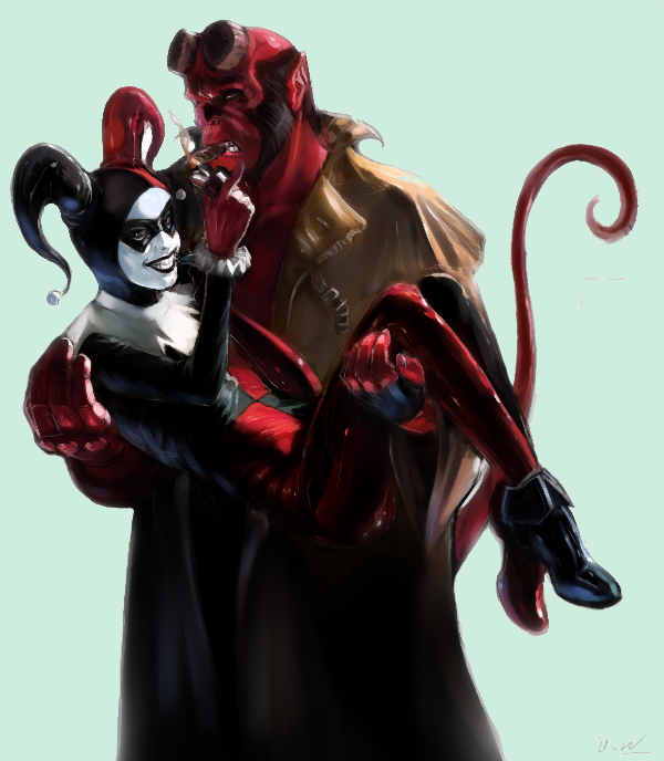 hellboy-harley queen