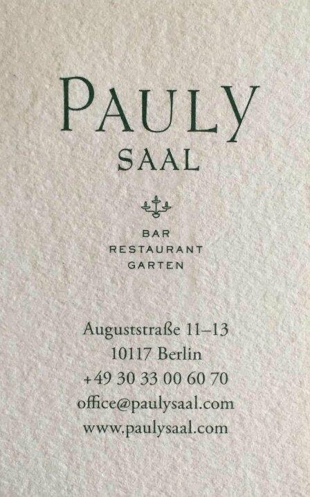 Pauly Saal