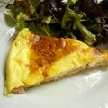 Quiche raclette presque light !