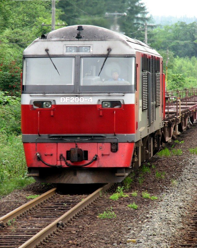 JR DF 200 locomotive
