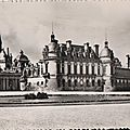 Château de chantilly cartes postales