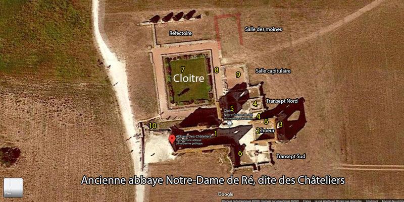 Ancienne abbaye Notre-Dame de Ré, dite des Châteliers