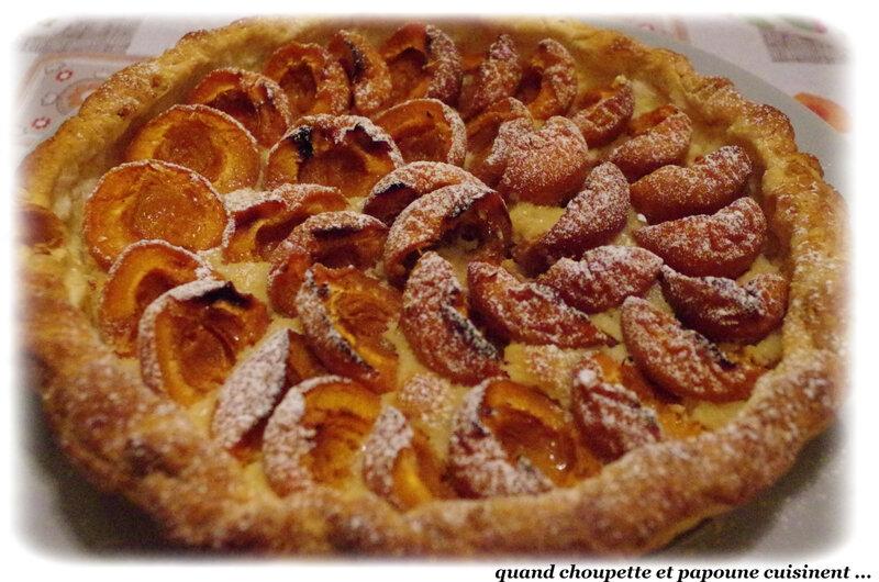 tarte aux abricots et à la crème d'amandes-6251