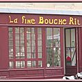La fine bouche rit bordeaux devanture boucherie photo vitrine humour