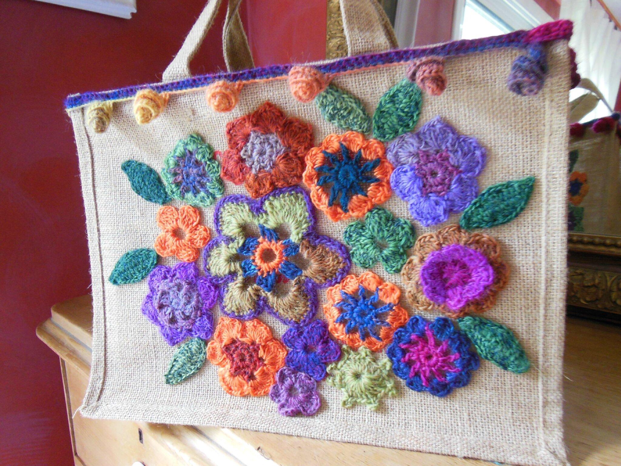 Sac fleurs en crochet (4)