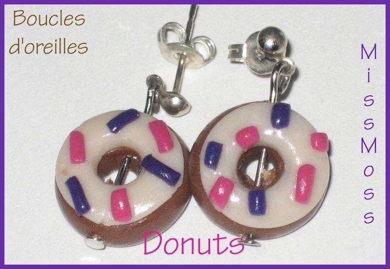 Bo donuts violet rose