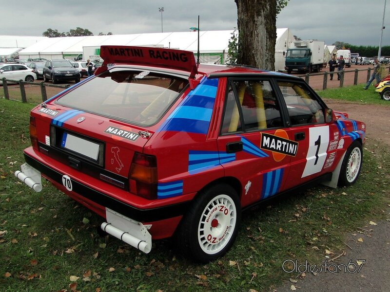 lancia delta hf integrale rally group a 1990 b
