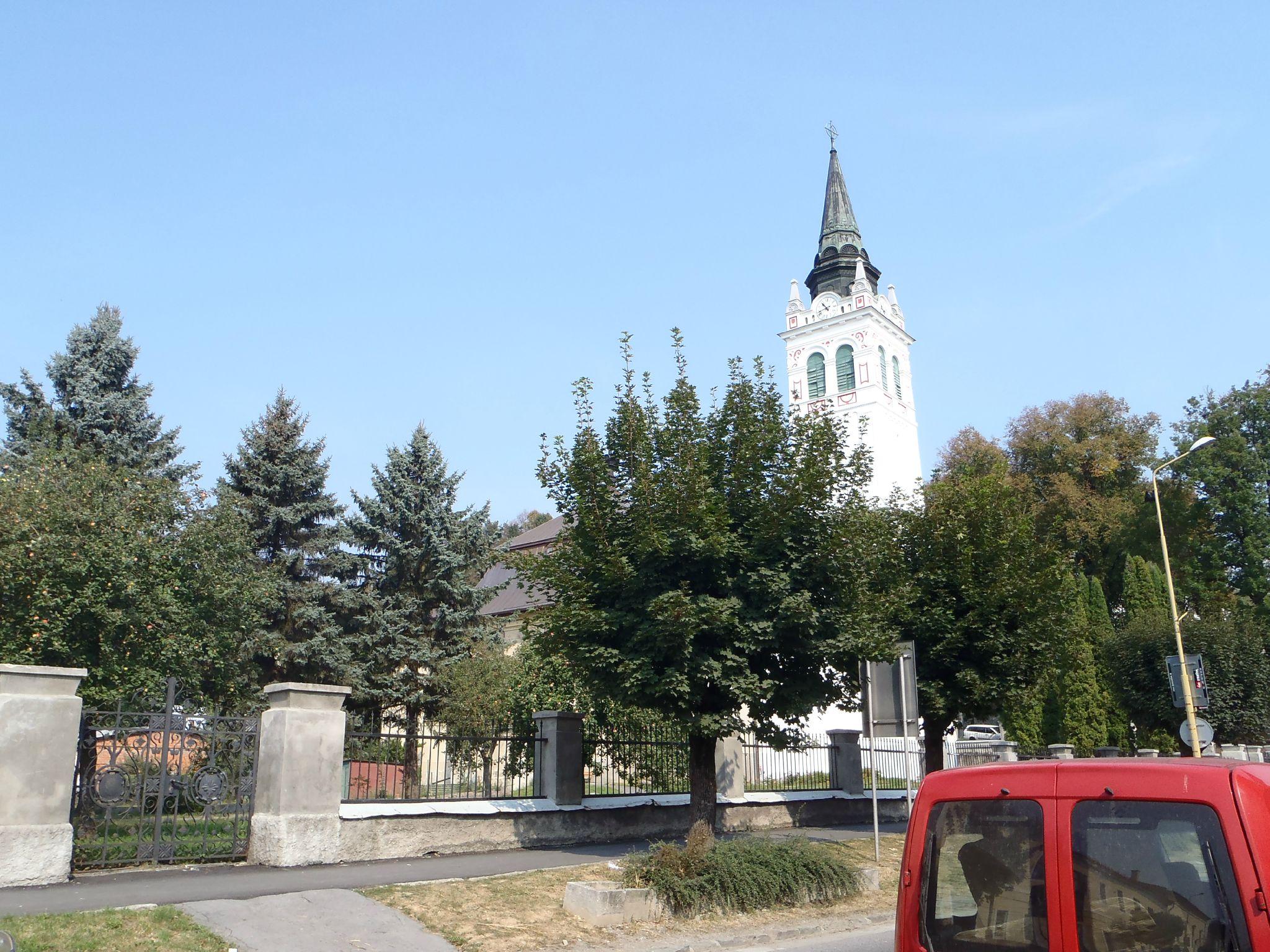 slovaquie - certains clochers sont paints