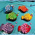 Cupcakes poissons de pâques