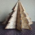 Sapin de noël - origami