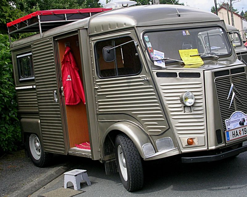 Citroen HY camping car